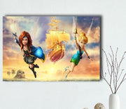 Peter Pan home decor printing. - Adilsons