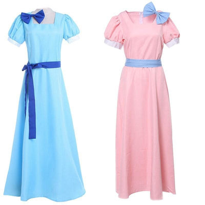 Peter Pan long dress Wendy cosplay. - Adilsons