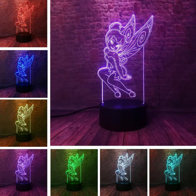 Peter Pan night light for sleeping. - Adilsons