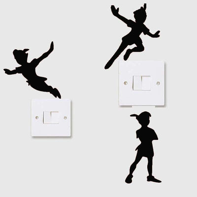 Peter Pan stickers wall art. - Adilsons