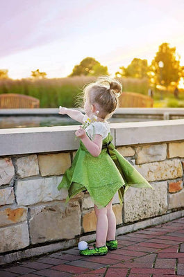 Peter Pan summer kids dress Tinkerbell. - Adilsons