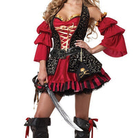 Pirate Of The Caribbean stylish women costume. - Adilsons