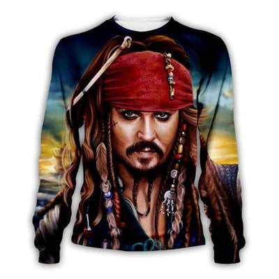 Pirates Of The Caribbean 3D print hoodies sweatshirts. - Adilsons
