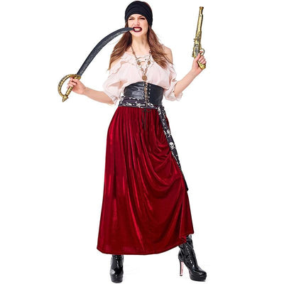 Pirates Of The Caribbean costume Jack Sparrow. - Adilsons