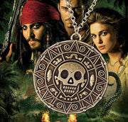 Pirates of the Caribbean cursed pirate coin. - Adilsons