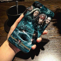 Pirates of the Caribbean Johnny Depp good phone case for iPhone. - Adilsons