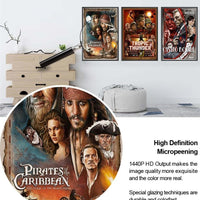 Pirates of the Caribbean modern poster. - Adilsons