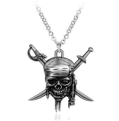 Pirates Of The Caribbean necklace Jack Sparrow's. - Adilsons