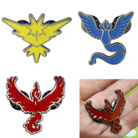 Pokemon Go Team Brooches - Adilsons