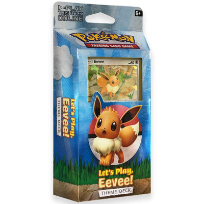 Pokemon - Lets Play Pikachu/Eevee Theme Deck - Adilsons