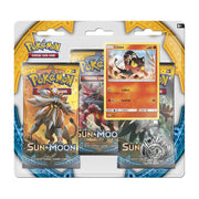 Pokemon Sun and Moon Triple Booster Pack - Adilsons