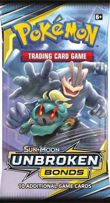 Pokemon Sun & Moon 10 Unbroken Bonds Booster - Adilsons
