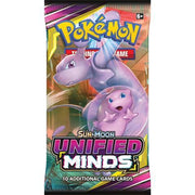 Pokemon Sun & Moon 11 Unified Minds Booster - Adilsons