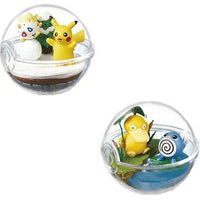 Pokemon transparent ball action figure toys. - Adilsons