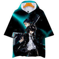 Psycho Pass 3D printing fashion T-shirt. - Adilsons