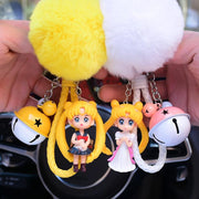 Sailor Moon accessories keychain. - Adilsons
