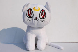 Sailor Moon Artemis Diana cat plush toys. - Adilsons