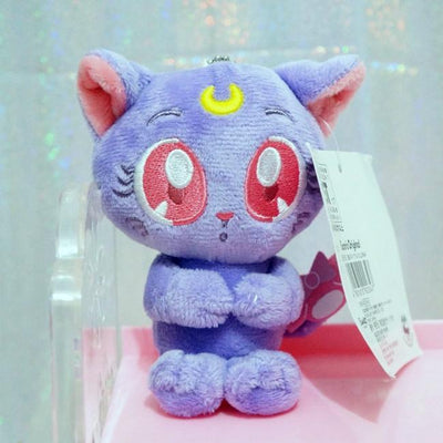 Sailor Moon beautiful Luna cat plush toy. - Adilsons