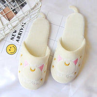 Sailor Moon cat Luna home slippers. - Adilsons