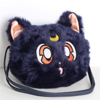 Sailor Moon Luna cat plush should bag. - Adilsons