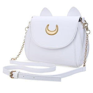 Sailor Moon Luna cat small bag. - Adilsons
