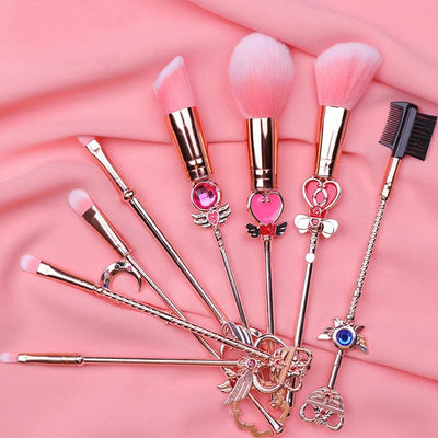 Sailor Moon makeup tool brush 8pcs/Set. - Adilsons