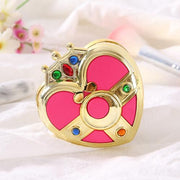 Sailor Moon pink heart Make up mirror. - Adilsons