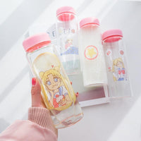 Sailor Moon portable water bottle. - Adilsons
