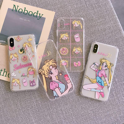 Sailor Moon princess cover for Apple iPhone. - Adilsons