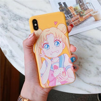 Sailor Moon silicone capa case for iphone. - Adilsons