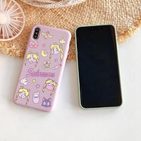 Sailor Moon soft back cover case for iPhone. - Adilsons