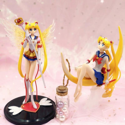 Sailor Moon Tsukino Usagi PVC action figure. - Adilsons