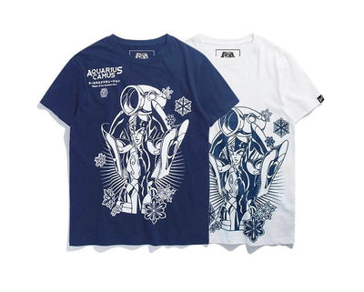 Saint Seiya Aquarius high quality T-shirts. - Adilsons