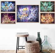Saint Seiya canvas home decor wall poster. - Adilsons