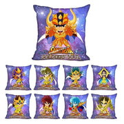 Saint Seiya decorative printed pillow cases (one sides). - Adilsons