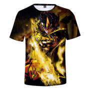 Saint Seiya fashion short sleeve T-shirt. - Adilsons