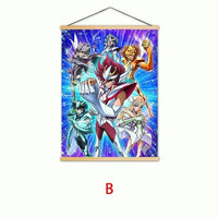 Saint Seiya painting posters home decoration scroll. - Adilsons