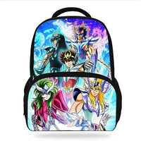 Saint Seiya printing Backpacks. - Adilsons