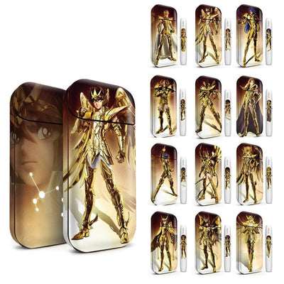 Saint Seiya Sticker for IQOS 2.4, Electronic Cigarette, case for IQOS 2.4 Plus - Adilsons