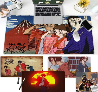 Samurai Champloo bright and beautiful mousepad. - Adilsons