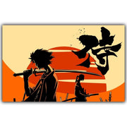 Samurai Champloo silk poster for wall. - Adilsons