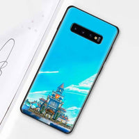 Silicone case for Samsung Galaxy s10e s10 s8 s9 plus s7 a40 a50 a70 note 8 9 - Adilsons