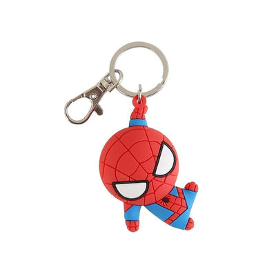 Spiderman 3D double side silicone keychain. - Adilsons