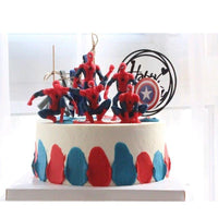 Spiderman amazing 7 style figure action. - Adilsons
