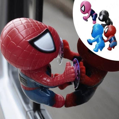 Spiderman car decoration toy. - Adilsons