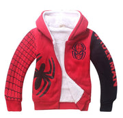 Spiderman fleece winter warm jacket. - Adilsons