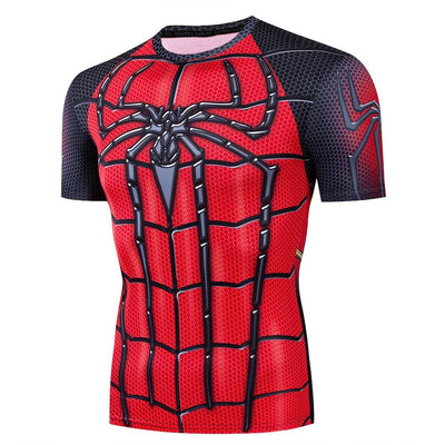 Spiderman kids 3D short sleeve T-Shirt. - Adilsons