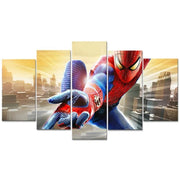 Spiderman modern home decor pictures 5 pieces. - Adilsons