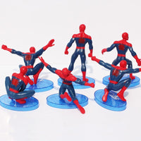 Spiderman PVC action figure 6Pcs/Set. - Adilsons