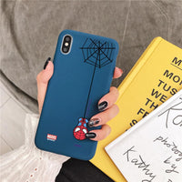 Spiderman relief case for iphone. - Adilsons